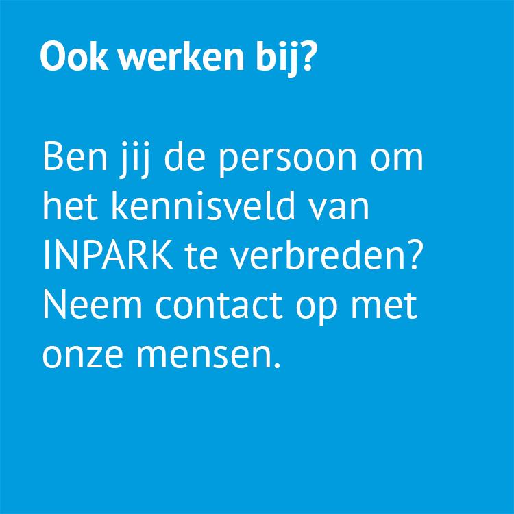 Ook werken bij INPARK?