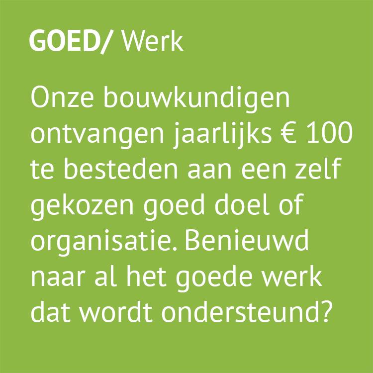 GOED/werk