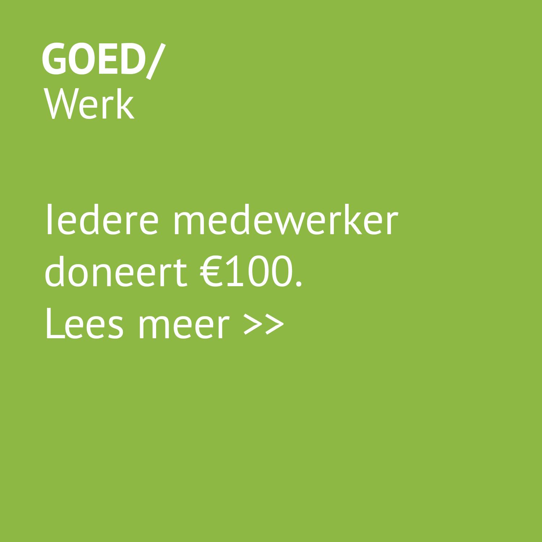 Goed - werk / sponsoring